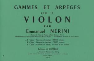 Gammes et Arpèges Volume 1 Emmanuel Nerini Partition laflutedepan
