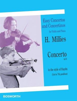 Concerto en ré dans le style de Haydn Hans Millies laflutedepan