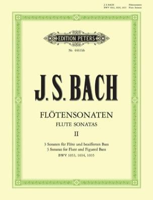 Sonates pour Flûte Vol. 2 - BWV 1033, 1034, 1035 BACH laflutedepan