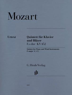 Quintette en Mi bémol majeur K. 452 pour piano, hautbois, clarinette, cor et bas laflutedepan
