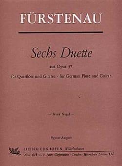 6 Duette aus op. 37 - Flöte Gitarre - laflutedepan.com