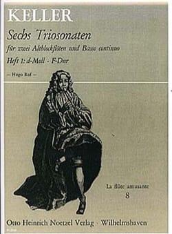 6 Triosonaten für 2 Altblockflöten und B.c., Bd 1 laflutedepan