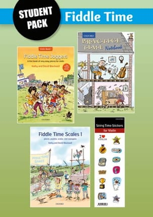 Fiddle Time Joggers + Scales Time Student Pack Fiddle laflutedepan