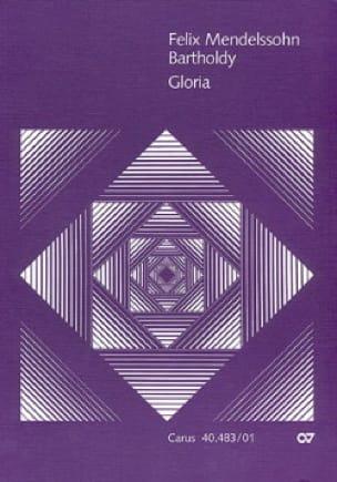 Gloria - Conducteur - MENDELSSOHN - Partition - laflutedepan.com