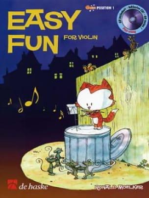 Easy Fun For Violon - Ronald Moelker - Partition - laflutedepan.com