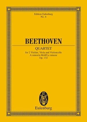 Streichquartett a-moll op. 132 -Partitur BEETHOVEN laflutedepan
