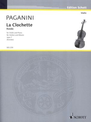 Niccolò Paganini - The Clochette op. 7 Kreisler - Partition - di-arezzo.co.uk