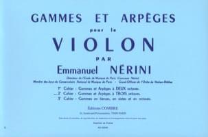 Gammes et Arpèges Volume 2 Emmanuel Nérini Partition laflutedepan