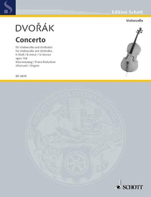 Concerto Pour Violoncelle Si Mineur Op. 104 DVORAK laflutedepan