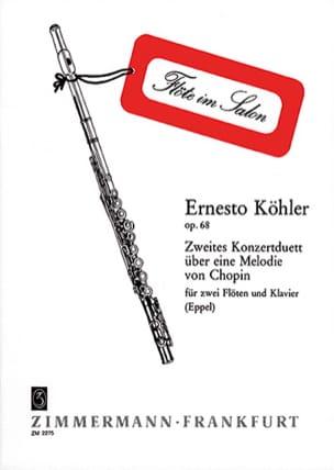 Konzertduett Nr. 2 über eine Melodie von Chopin - 2 Flöten Klavier laflutedepan