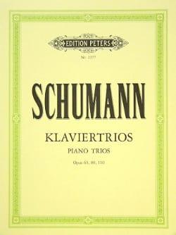 Klaviertrios op. 63, 80, 110 -Stimmen SCHUMANN Partition laflutedepan