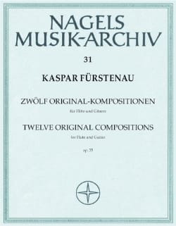 12 Original- Kompositionen op. 35 - Flöte Gitarre laflutedepan