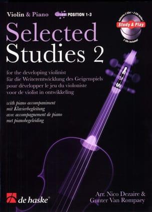 Selected Studies Vol.2 Dezaire Nico / Van Rompaey Gunter laflutedepan