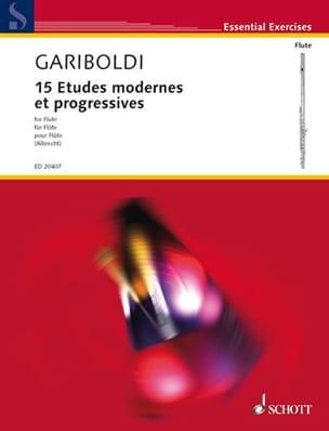 15 Etudes Modernes et Progressives GARIBOLDI Partition laflutedepan