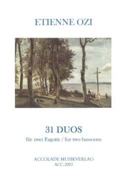 31 Duos aus der Nouvelle Methode de Basson Dassonville laflutedepan
