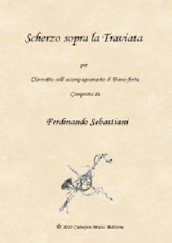 Scherzo sopra La Traviata - Clarinette et piano laflutedepan
