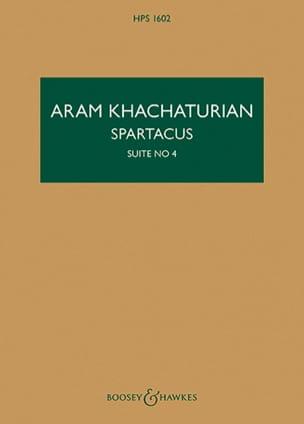 Spartacus, Suite n° 4 - Conducteur KHATCHATURIAN laflutedepan