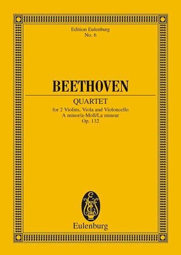 Streichquartett a-moll op. 132 -Partitur - laflutedepan.com