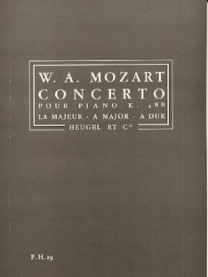 Concerto pour Piano KV 488 en La majeur - Conducteur - laflutedepan.com
