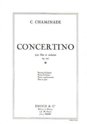 Concertino Op. 107 - Cécile Chaminade - Partition - laflutedepan.com