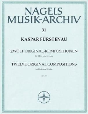 12 Original- Kompositionen op. 35 - Flöte Gitarre - laflutedepan.com