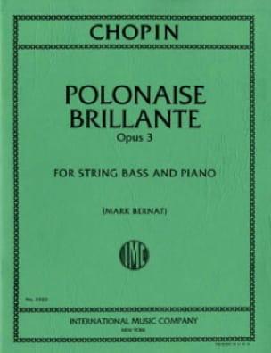 Polonaise Brillante op. 3 - String bass - CHOPIN - laflutedepan.com