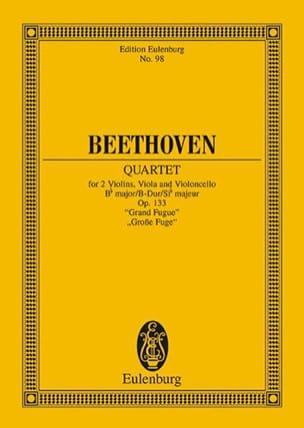 Streichquartett B-Dur op. 133 - Partitur - laflutedepan.com