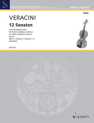 12 Sonaten nach Corelli op. 5, Bd. 1 laflutedepan