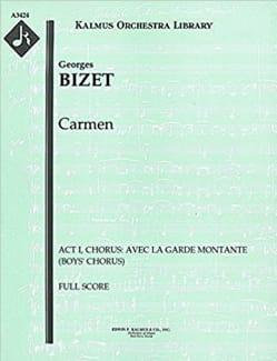 La Garde Montante extrait de CARMEN - BIZET - laflutedepan.com