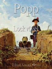 Lockvögel, Opus 449 Wilhelm Popp Partition Trios - laflutedepan
