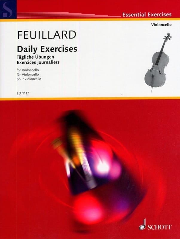 Exercices Journaliers - FEUILLARD - Partition - laflutedepan.com