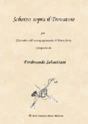 Scherzo sopra Il Trovatore - Clarinette et piano - laflutedepan.com
