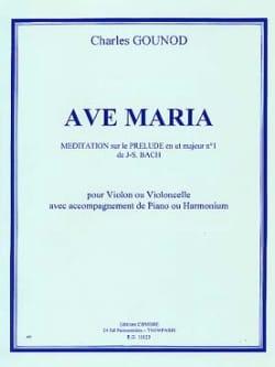 Ave Maria - Violon ou cello GOUNOD Partition Violon - laflutedepan