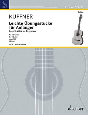 Leichte Übungsstücke für Anfänger Joseph Küffner laflutedepan