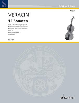 12 Sonaten nach Corelli op. 5, Bd. 2 laflutedepan