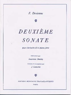 2ème Sonate - Clarinette et Piano DEVIENNE Partition laflutedepan