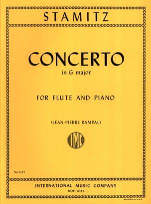 Concerto in G major op. 29 - Flute piano STAMITZ laflutedepan
