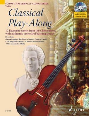Classical Play-Along For Violon Partition Violon - laflutedepan