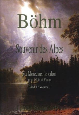 Souvenir des Alpes Volume 1 Theobald Boehm Partition laflutedepan