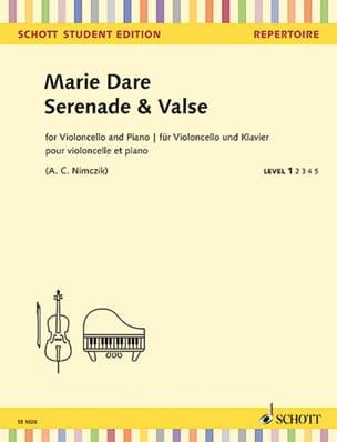 Sérénade et Valse - Marie Dare - Partition - laflutedepan.com