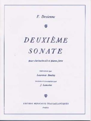 2ème Sonate - Clarinette et Piano - DEVIENNE - laflutedepan.com