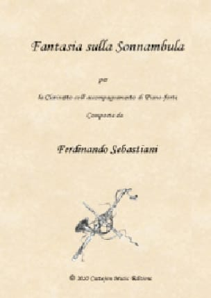 Fantasia sulla Sonnambula - 1ère version - laflutedepan.com