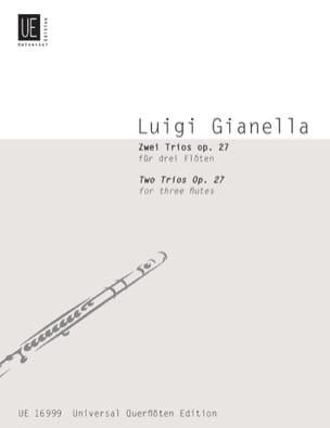 2 Trios op. 27 - 3 Flöten Luigi Gianella Partition laflutedepan