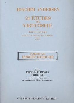 Joachim Andersen - 24 Virtuosity Studies op. 60 - Volumen 1 - Partition - di-arezzo.es