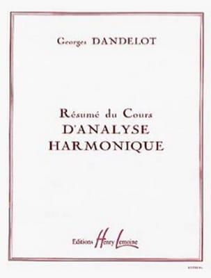 DANDELOT - Resumen del curso de análisis armónico - Partition - di-arezzo.es