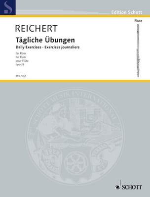 Tägliche Übungen op. 5 - Flöte Mathieu André Reichert laflutedepan