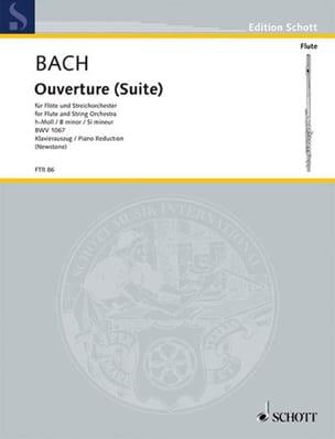Ouverture Suite h-moll BWV 1067 -Flöte Klavier BACH laflutedepan