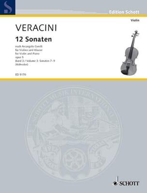 12 Sonaten nach Corelli op. 5, Bd. 3 laflutedepan