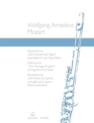 Ouverture des Noces de Figaro arrangée pour 4 flutes laflutedepan