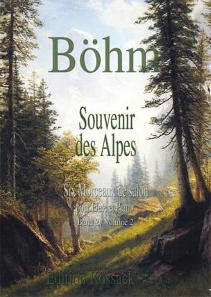 Souvenir des Alpes Volume 2 Theobald Boehm Partition laflutedepan